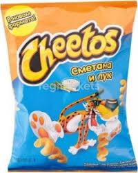 Палочки Cheetos Сметана и лук в Чапаевске (51 товар) 🥇