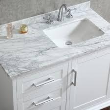 white bathroom vanity cabinet top