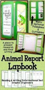 best ideas about informational writing animal reports a lapbook for animal research informational writing