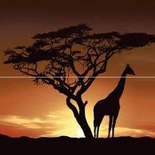 Africa <b>Панно</b> P2-1D210 40х40 (из 2 плиток) <b>Ceramica Classic</b>