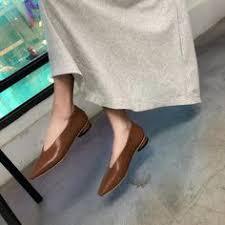 <b>Vintage</b> V Slit <b>Square Toe</b> Flats   Flats   Flats, Shoes, Fashion