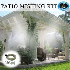 fan patio mist outdoor residential commercial