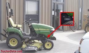 tractordata com john deere 2305 tractor information John Deere 2305 Wiring Diagram photo of 2305 serial number 2007 john deere 2305 wiring diagram lights