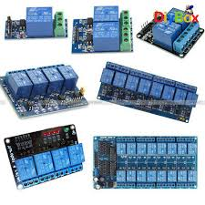 <b>12V 1</b>/<b>2/4</b>/8/16 Channel Relay Module With optocoupler For PIC ...