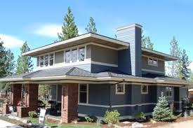 Prairie Style House Plans   Houseplans comPrairie Exterior   Front Elevation Plan       Houseplans com