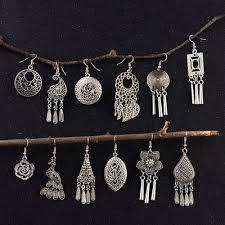 <b>Hot Vintage</b> Bohemia Gypsy <b>Tibet Style</b> Hooks Women Earring ...