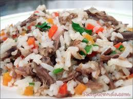 Resultado de imagem para arroz de carreteiro