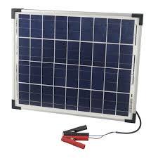 <b>12V 20W Solar Panel</b> with Clips | Jaycar Electronics