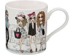 <b>Кружка</b> Lefard <b>Fashion Princess</b> 380мл <b>фарфор</b> арт.407-114 ...