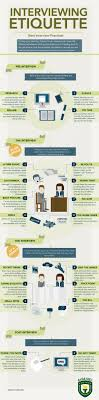 interviewing etiquette infographic tips for interview student job search tips middot interview etiquette repinned by sos inc resources follow all our boards at