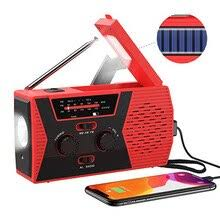 Emergency Solar Hand Crank Radio <b>Portable</b> Weather Radio ...