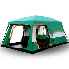 The camel outdoor New big space camping outing two bedroom tent ...
