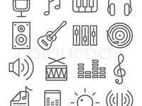 Графика музыкальных <b>инструментов</b>: лучшие изображения (36 ...