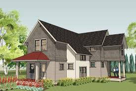 narrow lot plans   narrow house plans for narrow lotsUnique Small House Plan   Willernie Cottage