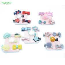 <b>5Pcs</b>/<b>set Hairpin</b> Baby Girl Star Hair Clip Bow <b>Flower</b> Mini Barrettes ...