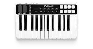<b>IK Multimedia iRig Keys</b> I/O 25 MIDI Controller and Audio Interface ...