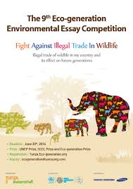 world  the th eco generation environmental essay competition    the th essay poster