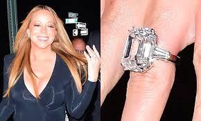 Мэрайя Кери показала свое обручальное <b>кольцо</b> за <b>7</b>,5 ...