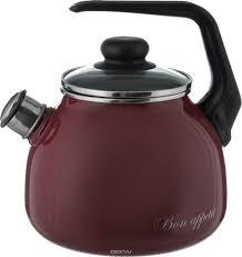 """<b>Чайник Vitross</b> """"Bon Appetit"""", со <b>свистком</b>, цвет в ассортименте, 3 ..."""