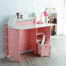 desk with shelf and file cart pink white at hayneedle brilliant corner office desk
