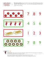 Holiday-themed Worksheets - School SparksChristmas math. 11 worksheets available
