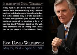 Pastor David Wilkerson was an uncompromising Christian. He Founded ... via Relatably.com