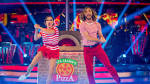 Comedian avoids the dance-off on Strictly