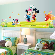 Small Picture Aliexpresscom Buy The New Listing Of Mickey Mouse Cartoon Wall