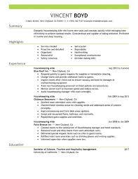 sample resume for housekeeping template sample resume for housekeeping housekeeper resumes