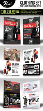 template s flyer template psd format clothing store flyer bundle set flyers print templates >>