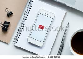 chiang mai thailand dec 192015 the youtube ios application is launching apple thailand office