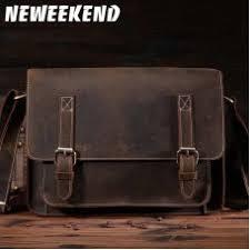 <b>NEWEEKEND</b> Retro Casual Multifunctional <b>Genuine Leather</b> ...