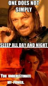Sleepy head. Lotr, star wars, meme, | RaNdOm | Pinterest | Lotr ... via Relatably.com