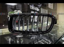 Снятие и установка ноздрей Performance BMW f30 - YouTube