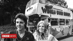 <b>Paul McCartney's</b> psychedelic <b>Wings</b> tour bus rediscovered - BBC ...