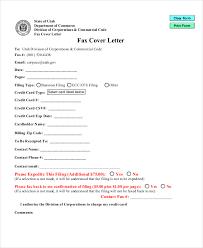 fax cover letter format fax cover letter format