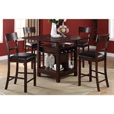 tall dining chairs counter: arezzo  pieces counter height dining set with wine storage and attractive property bar height dining table set