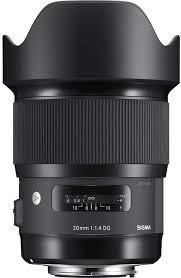 <b>Объектив Sigma AF</b> 20mm f/1,4 DG HSM Art <b>Nikon</b>