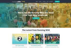 <b>Running Wild</b>: Homepage