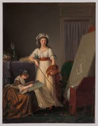 eighteenth century women painters in essay heilbrunn the interior of an atelier of a w painter