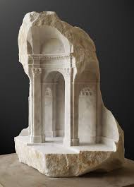 gallery of miniature spaces carved from stone  essay in baroque space image copy matthew simmonds