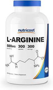 Nutricost L-Arginine 500mg, 300 Capsules - Gluten ... - Amazon.com