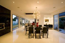 Chandelier Dining Room High Class Dining Room Chandelier With White Marble Floors And