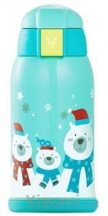 <b>Термос Xiaomi</b> Viomi Children Vacuum Flask Blue 590 ml купить в ...