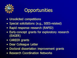 Sbe doctoral dissertation research improvement grants solicitation