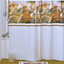 """<b>Штора для ванной Milardo</b> """"Calm Spirit"""", цвет: белый, коричневый ..."""
