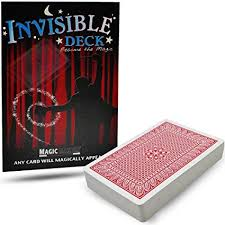 Invisible Deck Trick by Magic Makers - Red or Blue ... - Amazon.com