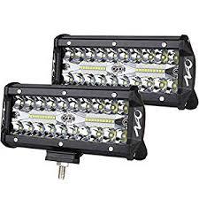 7inch LED Light Bar 2pcs 240W Offroad Driving Lights ... - Amazon.com