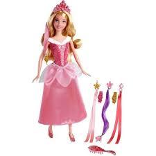 <b>Кукла Mattel</b> Аврора Спящая красавица, Модные <b>прически</b> ...