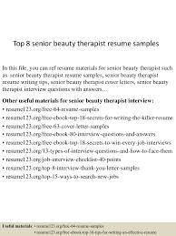 topseniorbeautytherapistresumesamples lva app thumbnail jpg cb